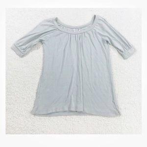 Michael stars shimmer metallic blouse